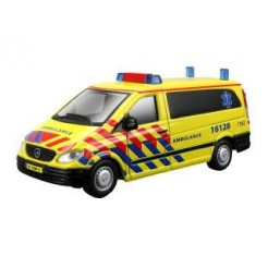 Burago Ambulance Bus