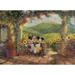 Clementoni 1000 Disney Art Puzzel 1000 stukjes
