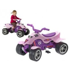 Falk Princess Quad Trapauto 3-7 jaar