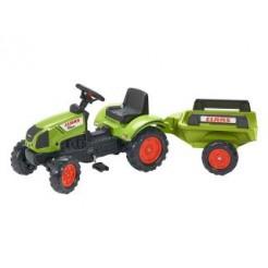 Falk Claas Arion 410 Tractor + Aanhanger 2/5