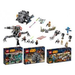 Lego 66495 Starwars Valuepack 3 Sets