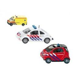Siku 112 1818NL Serie Brandweer + Politie + Ambulance