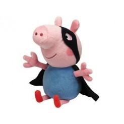 TY Beanie Babies Pig George Hero Knuffel 15cm