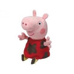 TY Beanie Babies Peppa Pig Muddy Puddle Knuffel 15cm