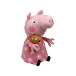 TY Beanie Babies Peppa Pig Large Peppa Knuffel 25cm