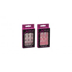 X-Cist Pink Rebels Crazy Nails Assorti
